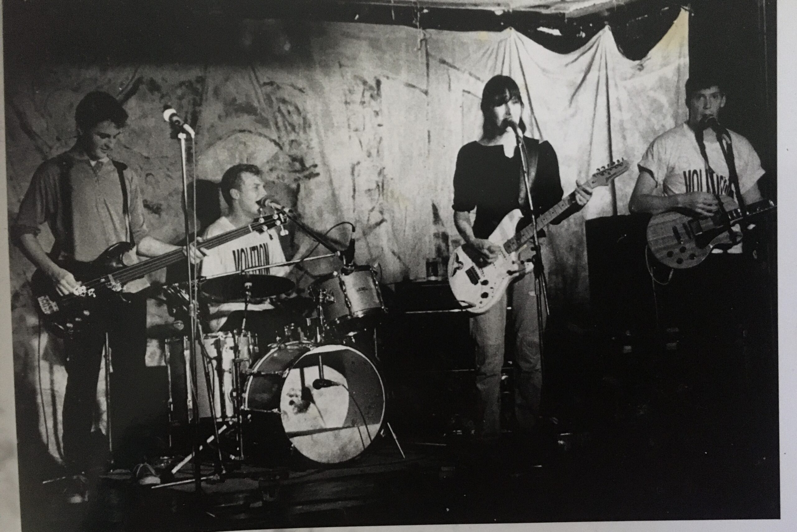 One of our first gigs as a 4 piece